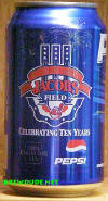 2004 Jacobs Field 10th Anniversary Collectors Can - Cleveland Indians